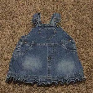 Baby girl Overall dress